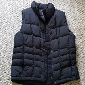 LL Bean down vest, size small